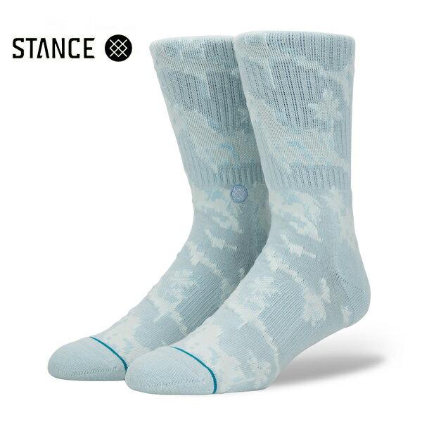 【STANCE】PIXEL PALMS カラー:lt blue 【スタンス】【スケートボード】【靴下/ソックス】