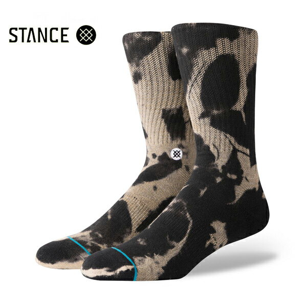 【STANCE】PIER RATカラー:black 【スタンス】【スケートボード】【靴下/ソックス】