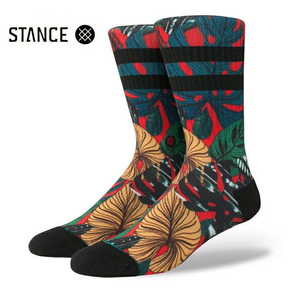 【STANCE】HOUSE PLANT カラー:red 【スタンス】【スケートボード】【靴下/ソックス】