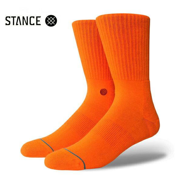 【STANCE】ICON カラー:orange 【スタンス】【スケートボード】【靴下/ソックス】