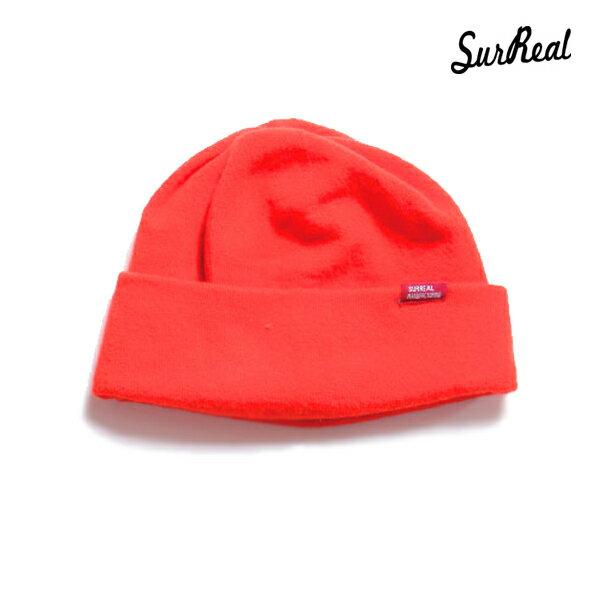 【SURREAL】KAZUYA -Whole Garment Wool Watch- カラー:orange 【シュルリアル】【スケートボード】【ビーニー/帽子】