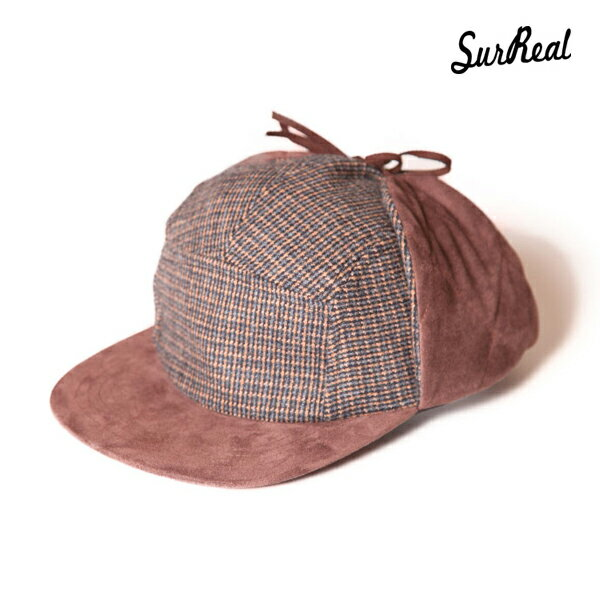 【SURREAL】RON -Earmuff Cap- カラー:brn 【シュルリアル】【スケートボード】【キャップ/帽子】