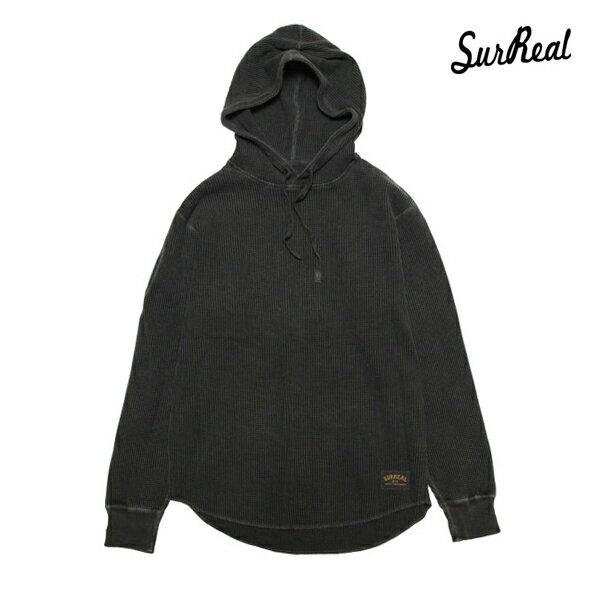 【SURREAL】BOB -Thermal Hooded Parka-カラー:sumi 【シュルリアル】【スケートボード】【サーマル/フード】