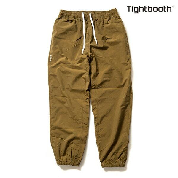 【TBPR/TIGHTBOOTH PRODUCTION】NYLON TRACK PANTS カラー:tan 【タイトブースプロダクション】【スケートボード】【パンツ】