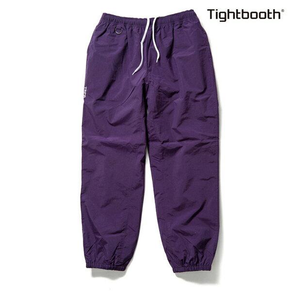 【TBPR/TIGHTBOOTH PRODUCTION】NYLON TRACK PANTS カラー:purple 【タイトブースプロダクション】【スケートボード】【パンツ】