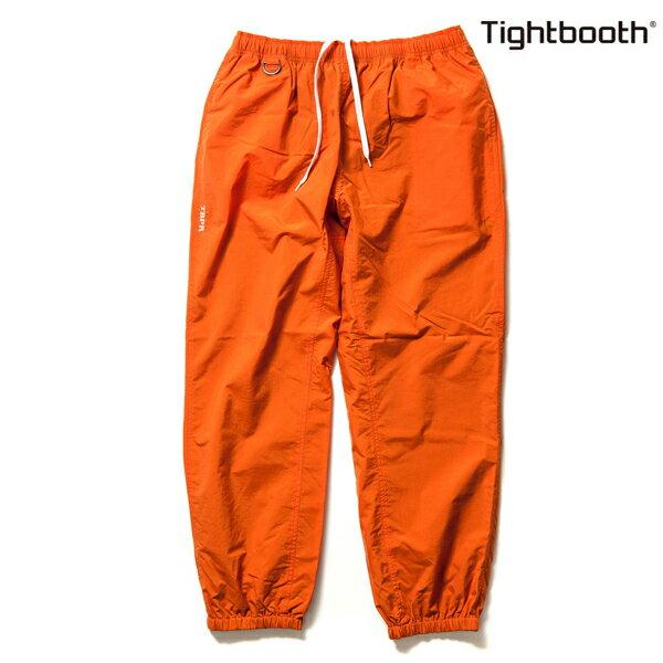 【TBPR/TIGHTBOOTH PRODUCTION】NYLON TRACK PANTS カラー:orange 【タイトブースプロダクション】【スケートボード】【パンツ】