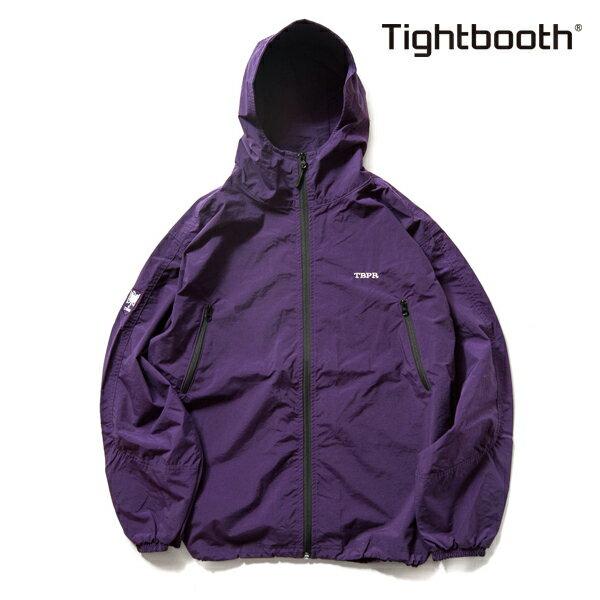 【TBPR/TIGHTBOOTH PRODUCTION】NYLON TRACK JKT カラー:purple 【タイトブースプロダクション】【スケートボード】【ジャケット】