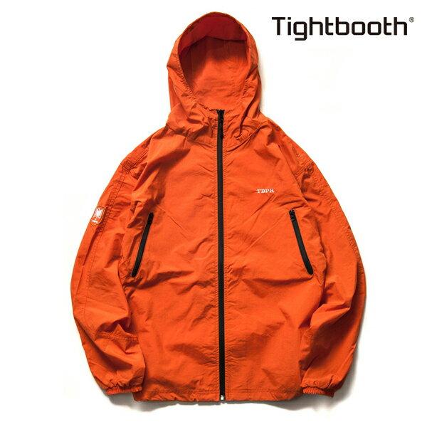 【TBPR/TIGHTBOOTH PRODUCTION】NYLON TRACK JKT カラー:orange 【タイトブースプロダクション】【スケートボード】【ジャケット】