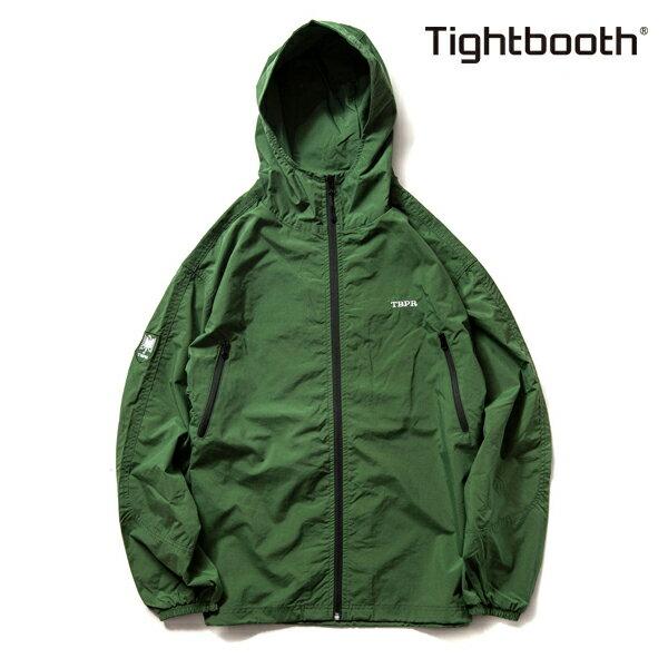 【TBPR/TIGHTBOOTH PRODUCTION】NYLON TRACK JKT カラー:green 【タイトブースプロダクション】【スケートボード】【ジャケット】