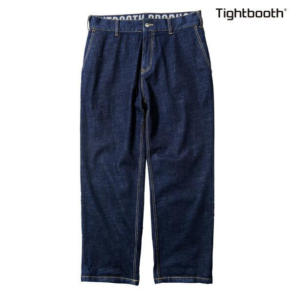 【TBPR/TIGHTBOOTH PRODUCTION】STRETCH DENIM PANTS カラー:indigo 【タイトブースプロダクション】【スケートボード】【パンツ/デニム】
