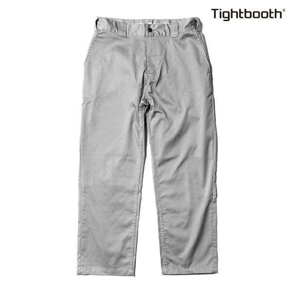 【TBPR/TIGHTBOOTH PRODUCTION】STRETCH PANTS HIGH END カラー:grey 【タイトブースプロダクション】【スケートボード】【パンツ/チノ】
