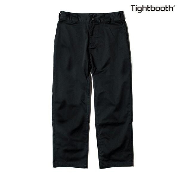 【TBPR/TIGHTBOOTH PRODUCTION】STRETCH PANTS HIGH END カラー:black 【タイトブースプロダクション】【スケートボード】【パンツ/チノ】