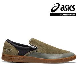 【asics skatebording】GEL-VICKKA SLIP-ON カラー:mantle green/graphite grey アシックス スケートボーディング スリッポン スケボー シューズ 靴 スニーカー SKATEBOARD SHOES
