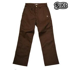 【BLUCO WORK GARMET】STANDARD WORK PANTS OL-004カラー:brown 【ブルコ】【スケートボード】【パンツ/チノ】