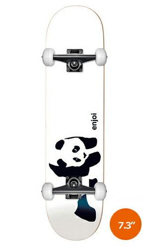 【ENJOI】 PANDA -kids complete set-推奨年齢:9〜12歳 【エンジョイ】【スケートボード】【スケボー】【キッズ】【コンプリート セット】【送料無料】