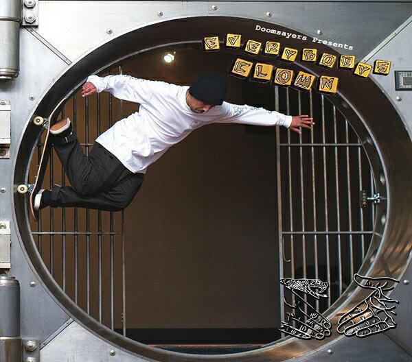 【DOOM SAYERS】EVERBODYS CLOWN 【スケートボード】【ドゥームセイヤーズ】【映像/DVD】