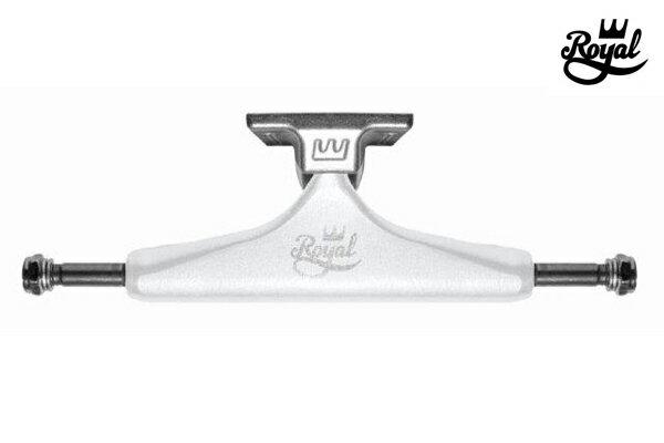 【ROYAL】CLASSIC CROWN カラー:white/silver 【ロイヤル】【スケートボード】【トラック】