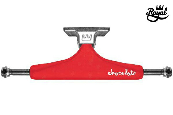 【ROYAL】CHOCOLATE カラー:red/raw 【ロイヤル】【スケートボード】【トラック】