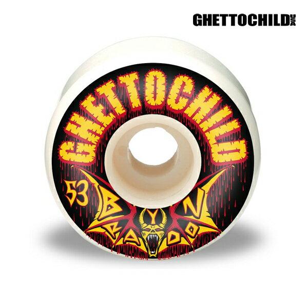 【GHETTO CHILD WHEEL】Braydon Szafranski サイズ:53mm 【ゲットーチャイルド】【スケートボード】【ウィール】