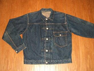 (Levis) LEVIS 506 XX 1st (first) denim jacket sliding syncback 1940s real vintage