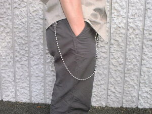 Wallet Chain(ウォレットチェーン) Stainless Steel Ball Chain(ステンレス製ボールチェーン) 50cm MADE IN JAPAN(日本製)