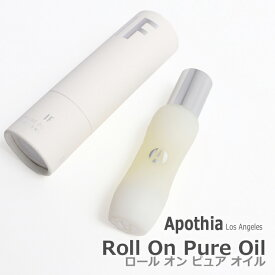 Apothia LOS ANGELES アポーシア Roll-on Pure Oil ロールオン ピュアオイル 9ml IF PEARL VELVET ROPE BRONZED イフ パール ベルベットロープ ブロンズド 香水 フレグランス アロマ 香り 匂い