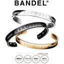 【着後レビューでBANDELグッズプレゼント!】BANDEL バンデル チタン バングル ブレスレット アスリート バランス 運…