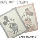 BAREFOOT DREAMS(ベアフットドリームス)Vintage Disney Baby Blanket ヴィンテージ ディズニー ベビーブランケット…