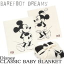 BAREFOOT DREAMS(ベアフットドリームス)Classic Mickey Mouse/Minnie Mouse BABY BLANKET クラシック ミッキーマウ…