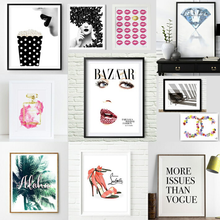 【12/21までポイント5倍】[額セット] アートポスター A4サイズ ART デザイン アートプリント インテリア 額縁 フレーム