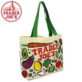 TRADER JOE'S トレーダージョーズ BAG エコ バッグ 高級スーパー スーパーマーケット オリジナル ママバッグ トートバッグ 海外セレブ 手提げ 引っ越し 新生活 母の日