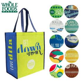 Whole Foods ホールフーズ トートバック エコ バッグ 高級スーパー スーパーマーケット オリジナル ママバッグ トートバッグ 海外セレブ 手提げ 引っ越し 新生活 母の日
