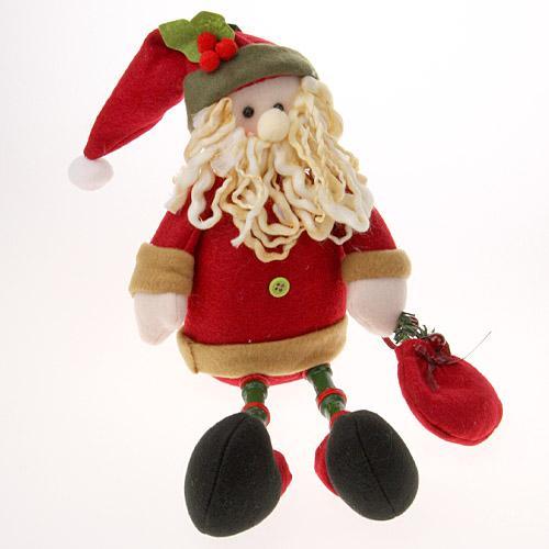 【クリスマス】【デコレーション】お座りドール サンタ