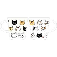【ネコ雑貨】【マグカップ】マグカップなごみマグねこ顔