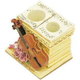 【印鑑スタンド】【おしゃれ】印鑑 ピックスタンド シンフォニー バイオリン