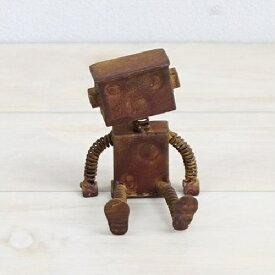 【ミニチュア】【雑貨】ミニチュア オブジェ ブリキロボット小 アイアン