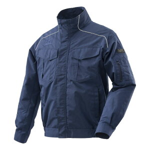 ミズノエアリージャケット (服のみ)L HO-5NB-L | 空調服 作業服 作業着 服のみ 熱中症予防 熱中症対策 熱中症対策グッズ ジャケット 暑さ対策 グッズ 長袖 ワークウェア 建設業 工事現場 作