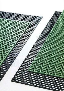 【エントリーでポイント5倍♪】【法人・個人事業主様限定】【代引き不可】グラスマットGHS グリーン 8t×1000×1000 芝生養生マット|芝生 養生 マット 芝生マット 養生マット ゴムマット 芝生保