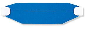 377-904 ヘルタイ(兼用タイプ)青   ヘル帯 ヘルメット帯 現場 作業 工事 工事現場 作業用品 工事用品 建築工事 土木工事 建設現場 建設工事 建設作業 ヘルメット 役割 職種 安全ヘルメット ヘ