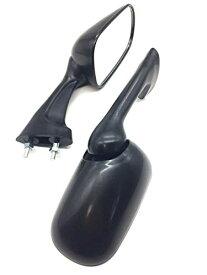 ホンダ 用 ミラー 左右セット ブラック 黒 CBR250RR MC19 MC22 VFR400 NC30 RVF400 NC35 NSR250R MC18 MC21 MC28 CBR400RR NC29 NC23 汎用品 バイク用 ドレスアップ カスタム パーツ バルブ 電球 左右 セット ホルダー フロント オイル 燃料 キャップ