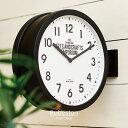 【インターフォルム公式】 【送料無料】 Robeston ロベストン 掛け時計 | 両面時計 時計 おしゃれ お洒落 かわいい イ…