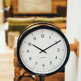 【インターフォルム公式】 【送料無料】 Mccarty マッカーティ 掛け時計 | 時計 おしゃれ お洒落 かわいい インテリア スイープムーブメント 壁時計 壁掛け時計 両面時計 モノトーン シンプル ナチュラル 北欧 リビング ダイニング 一人暮らし デザイン ギフト カフェ