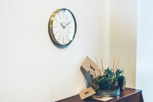 【RカードエントリーでP12倍】【送料無料】Manonマノン掛け時計|時計おしゃれお洒落かわいいインテリアスイープムーブメント壁時計壁掛け時計北欧ナチュラルシンプルモダンリビングダイニング寝室一人暮らしギフト静かゴールドギフトプレゼント