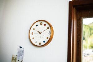 【エントリーでP11倍】【送料無料】Katrineカトリネ掛け時計|時計おしゃれお洒落かわいいインテリアスイープムーブメント壁掛け時計壁時計北欧ナチュラルカラフルリビングダイニング子供部屋書斎一人暮らし寝室新居お祝い