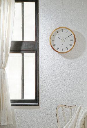 【インターフォルム公式】【送料無料】Orianaオリアナ壁掛け時計|掛け時計時計おしゃれかわいい北欧インテリア壁時計ウォールクロック木無音音がしないナチュラルリビングダイニング寝室一人暮らしギフトローマ数字