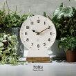 【インターフォルム公式】【送料無料】Polkuポルク置き時計|テーブルクロック置時計時計おしゃれかわいいオブジェシンプル無音ミッドセンチュリーナチュラルインテリアリビングトイレ玄関寝室一人暮らしお祝いギフト新築