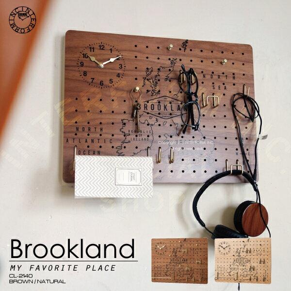 Brookland [ ブルックランド ]■ 壁掛け時計 | 掛け時計 | ペグボード | 有孔ボード【 インターフォルム 】
