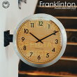 Franklinton[フランクリントン]壁掛け時計■両面時計|掛け時計|置時計【インターフォルム】