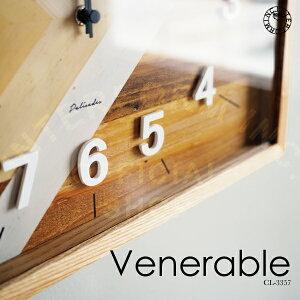 Venerable[ベネレーブル]壁掛け時計■電波時計|壁時計|掛け時計【インターフォルム】