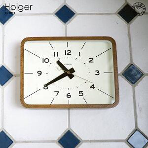 【インターフォルム公式】【送料無料】Holgerホルガー掛け時計|時計おしゃれお洒落かわいいインテリアスイープムーブメント壁時計壁掛け時計北欧ナチュラルシンプルリビングダイニング寝室書斎一人暮らし新居新築レトロ